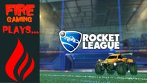 Rocket League - Fire Plays!