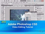 Adobe Photoshop CS5 Video Editing Tutorial - Import Video into Photoshop