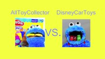 DisneyCarToys Vs. AllToyCollector Play Doh Competition Breakfast Foods Play-Doh Fruit Loops Pancakes