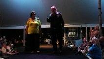 Zeke Rivers & Kathy Goodwin perform 'Welcome To My World' Elvis Week 2015