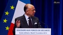 Discours de Bernard Cazeneuve aux forces de sécurité : perspectives d'avenir et conclusion