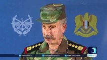 Syrian army operations backed by Russian air cover