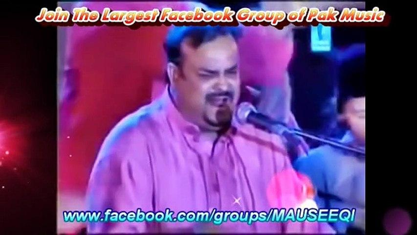 Tribute to Nusrat Fateh Ali Khan by Amjad Sabri Qawwal & Party