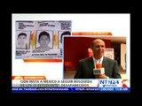 CIDH exige al Gobierno mexicano a continuar búsqueda de los 43 normalistas de Ayotzinapa