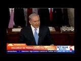 """""""Irán es una amenaza para el mundo entero"""": Benjamín Netanyahu desde el Congreso de EE.UU."""