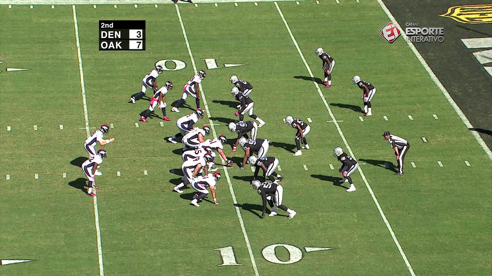História da semana 5 da NFL - Charles Woodson, Oakland Raiders
