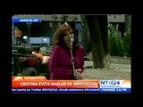 Cristina Fernández guarda silencio tras imputación por supuesto encubrimiento a terroristas iraníes
