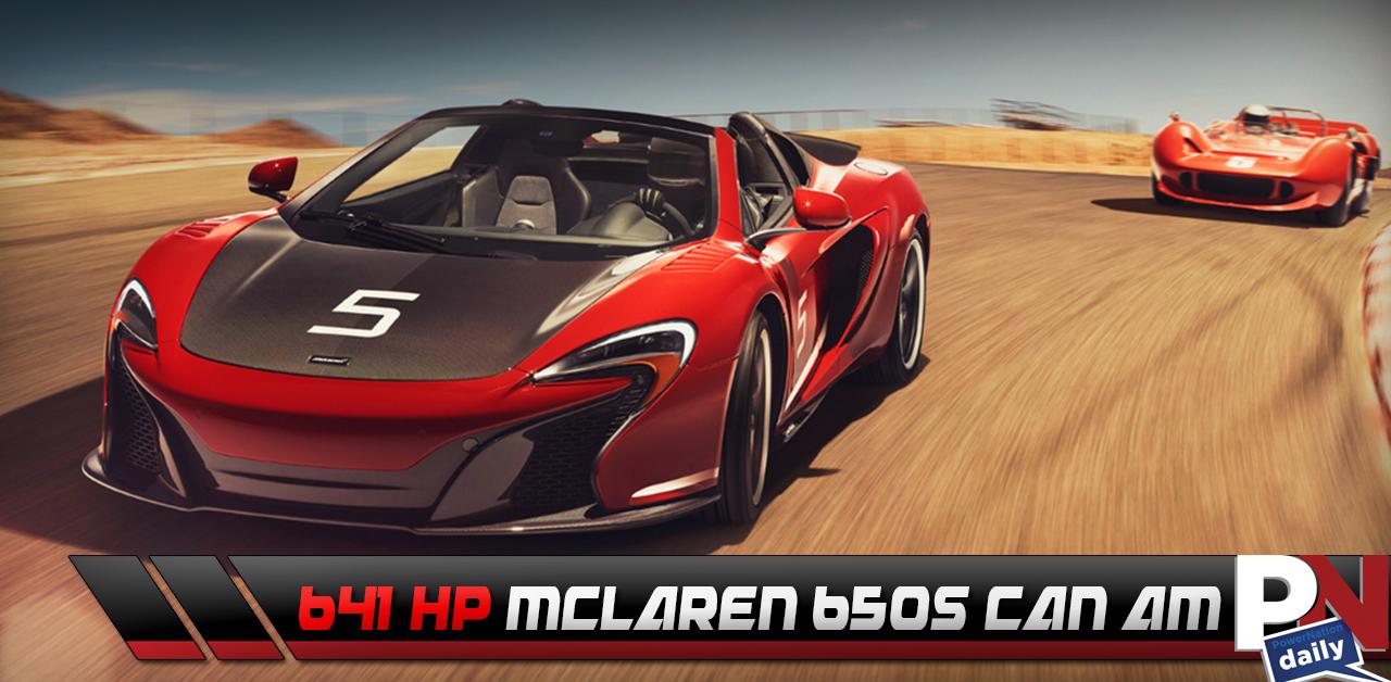 The 641HP McLaren 650S Can-Am