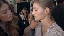 Makeup at Herve Leger Spring 2016 New York Fashion Week
