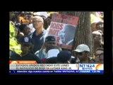 En medio de protestas 'pacíficas' EE.UU. rinde homenaje a Martin Luther King Jr.