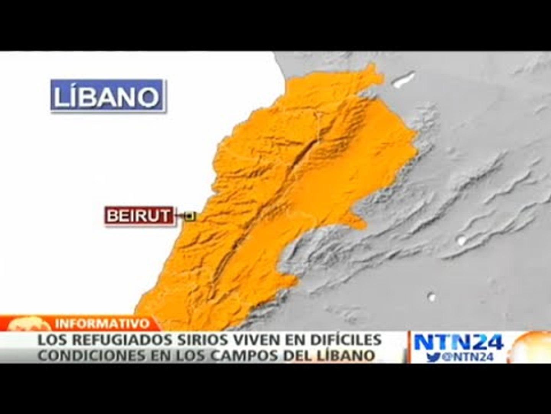 """Especial NTN24: """"Siria entre fuegos cruzados"""": cientos de familias sirias se refugian en el Líbano"""