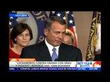 """Republicanos amenazan con bloquear presupuesto del Gobierno si Obama da """"amnistía"""" a indocumentados"""