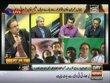 Classical insult of Arshad Sharif by Rauf Klasra, Amir Mateen and Kashif Abbasi in Program ' Khabar se Khabar Tak'