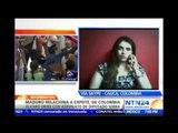"""Senadora colombiana asegura en NTN24 que Maduro tiene """"una alianza con el narcoterrorismo"""""""