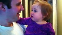 Dad shaves beard and confuses his daughter - Fun 4 Everyone