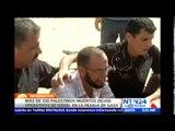 Al menos 70 palestinos murieron durante la última serie de ataques del Ejército israelí en Gaza