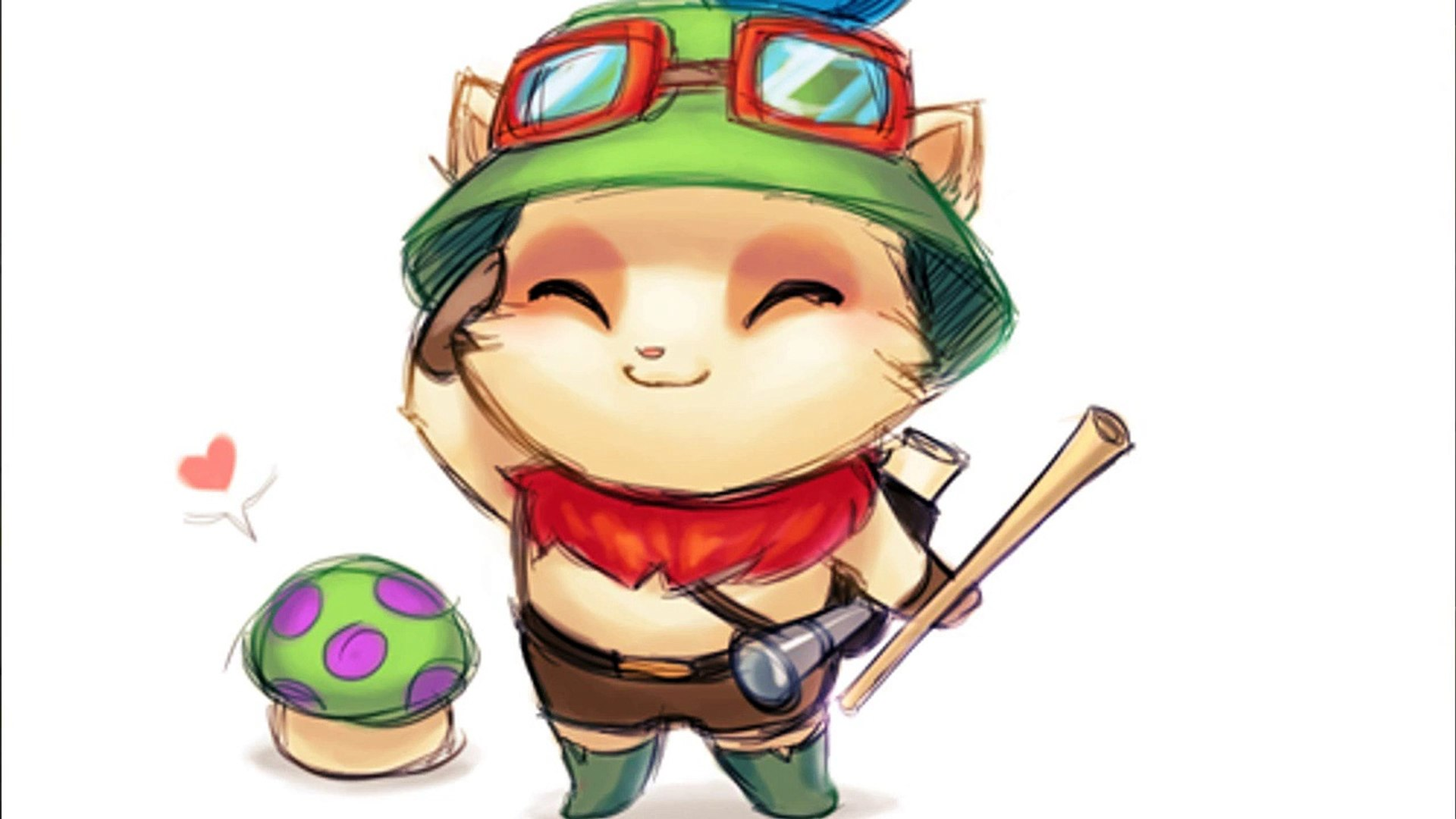 Teemo Full Attack Speed and Full Crit. 6x blade of the ruined king League of Legends