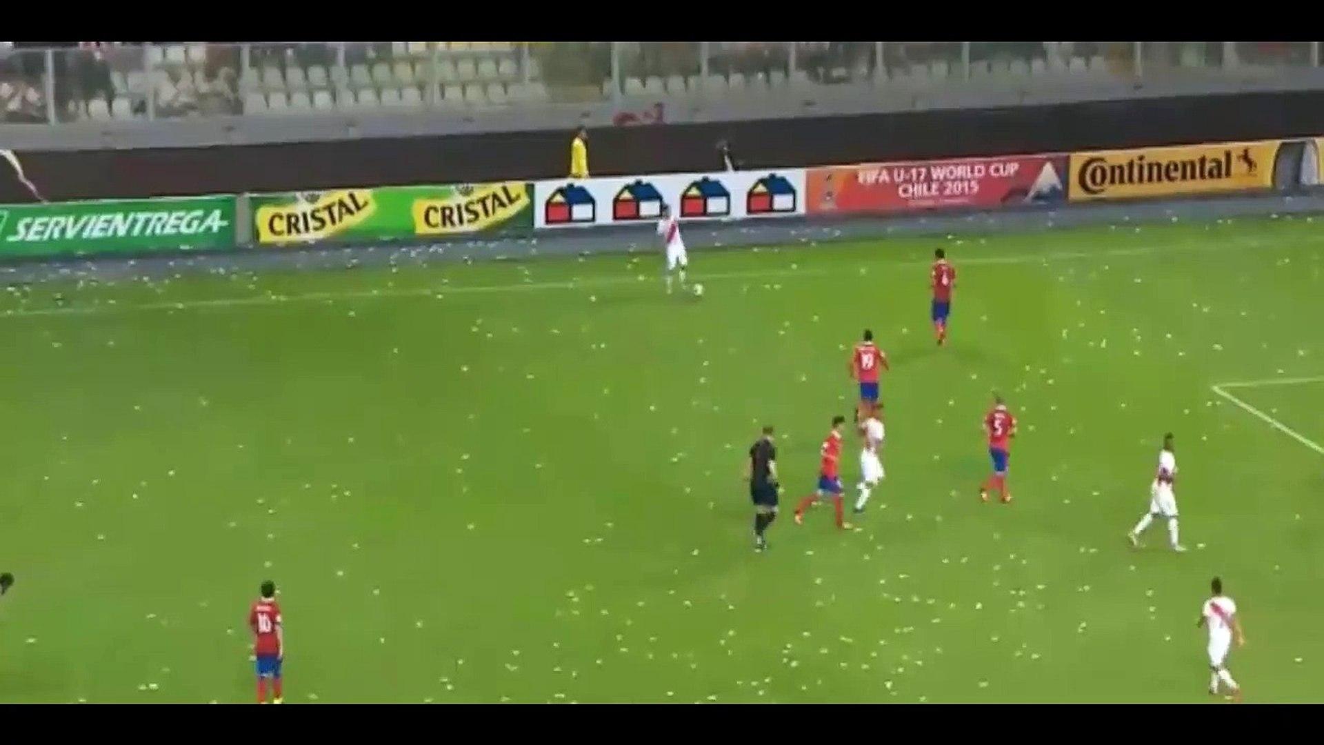 Paolo Guerrero Goal ~ Peru 3 - 4 Chile