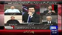 Daniyal Aziz insulting Imran Khan in a live show
