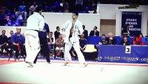 Coupe de France de Karaté Kyokushinkai 2015 - Finale des -80kg