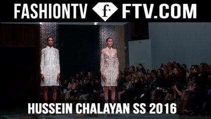 Hussein Chalayan's Spring Summer 2016 | FTV.com