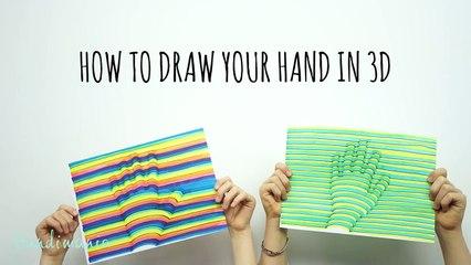 Dessiner sa main en 3D