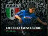 GOALS: Serie A 1990/91 - Voeller, Simeone, Mancini, Ancelotti, Gullit, Klinsmann, Careca, Vialli