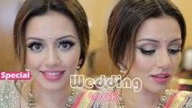 Indian and Pakistani Wedding Guest Makeup Tutorial - Eid Makeup Look