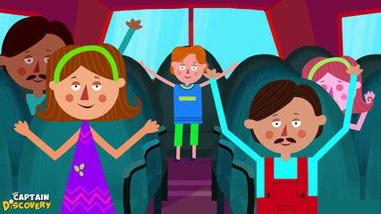Wheels on the Bus Version 1 - Nursery Rhyme
