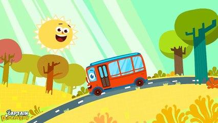 Wheels on the Bus Version 2 - Nursery Rhyme