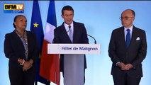"""Valls annonce des peines """"renforcées"""" pour trafic d'armes lourdes"""