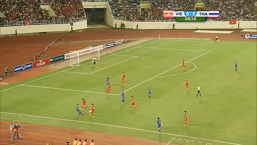 Thaweekarn scores screamer for Thailand Soccer Highlights To