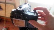 Nikon D3100 Shutter sound speed continuous burst mode test fps