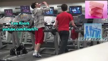 Eating Junk Food at the Gym Social Experiment Pranks on People Funny Videos Best Pranks 20