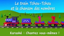 Le train Tchou Tchou et la chanson des nombres. Dessin animé éducatif et interactif. Karao