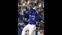 Take a look at Jose Bautista's epic bat flip after his 3-run homer gave Blue Jays lead