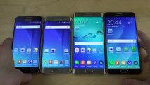 Samsung Galaxy Note 5 vs. Galaxy S6 vs. Galaxy S6 Edge vs. S6 Edge+!