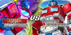 Transformers Devastation vs Transformers 80's