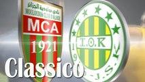 Le classico algérien - MC Alger vs JS Kabylie - Présentation