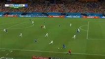 Il gol di Mario Balotelli in Italia-Inghilterra, Mondiali 2014