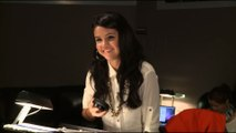 Selena Gomez reveals her fake hair