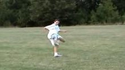 12-year old girl soccer freestyle
