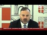 Icaro Sport. Rimini Calcio: il presidente De Meis prima della presentazione di Brevi