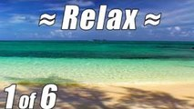 RELAX or SLEEP on #1 CARIBBEAN BEACH Relaxing Ocean Waves Sounds Sea Wave Sound Crashing S