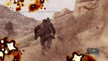 MetaL gear solid V the phantom pain, gameplay español parte 8,Destruyendo tanques con mi tanque 1d2