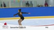 Samantha Cabiles - PHI  Free Program