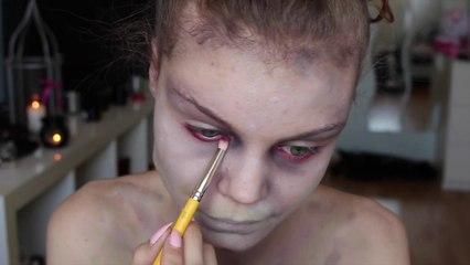 Gorge tranchée - Halloween Make up Tutorial ♥