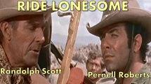 Pernell Roberts & Randolph Scott in Ride Lonesome [Before Bonanza ] 1959