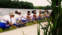 POV Rowing with Great Britain Womens Eight | Rowing Week