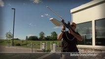 Nouvelle arme de défense contre les drones - Fusil à ondes radio